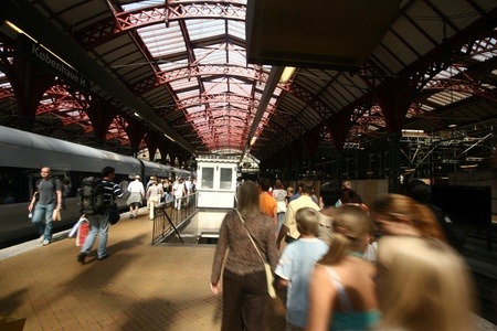 buiseness: trains, stations, passenger and travellers