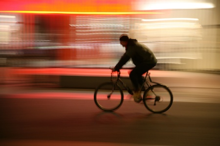 la nuit dans la rue d'un Cityi à anvers en belgique Banque d'images