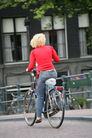 Bikes in Amsterdam photo