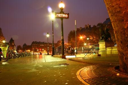 Metro in Paris Stock Photo - 11752504