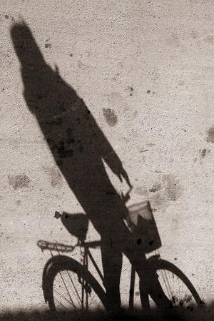 bejing: Biking on a street in bejing china