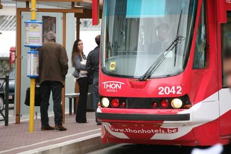 tramway: Tramway in Prag Editorial