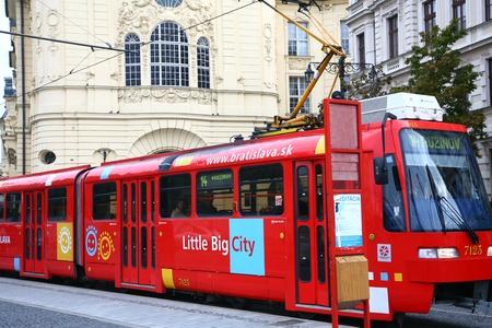 tramway: Tramway in Bratislava