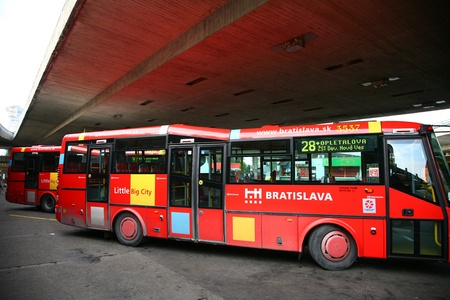 busses: Bus in Bratislava