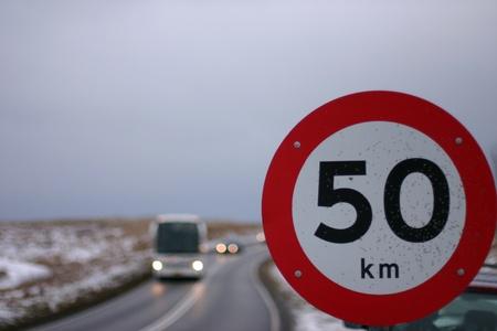 señales de transito: Las señales de tráfico Foto de archivo