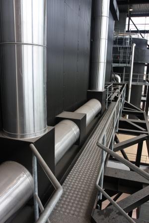 powerplants: Energy plant in denmark based on garbage burning Stock Photo