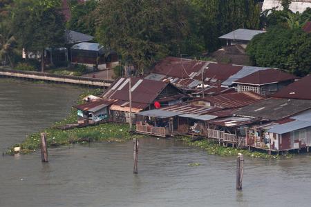 chao phraya: Chao Phraya river in Bangkok in Bangkok Thailand Stock Photo