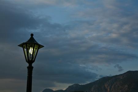mediteranean: Lamp in the sky