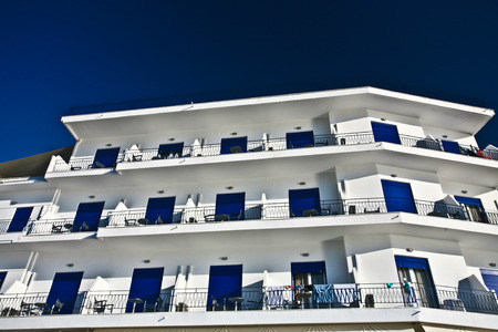 mediteranean: Tourist appartments in Peloponese in greece in the summer