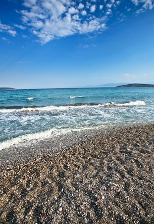 mediteranean: Beach in  Peloponese in Greece