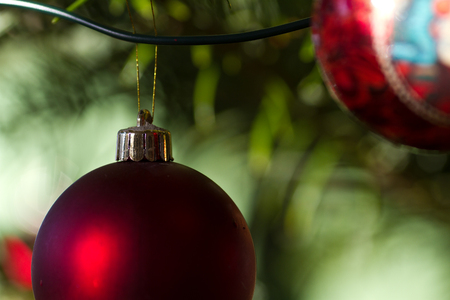 christmas ornamentation: Christmas decorations , balls and other decorations in denmark