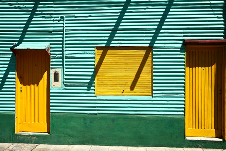 Scenes La Boca  a neighborhood, or barrio of the Argentine capital, Buenos Aires Banque d'images