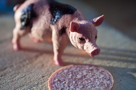 Pig plastique Miniature