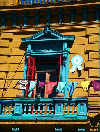 Scènes de La Boca, un quartier, ou barrio de la capitale argentine, Buenos Aires