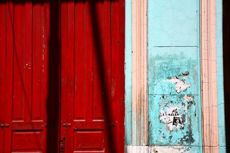 Scènes La Boca un quartier ou un bar de la capitale argentine, Buenos Aires Banque d'images