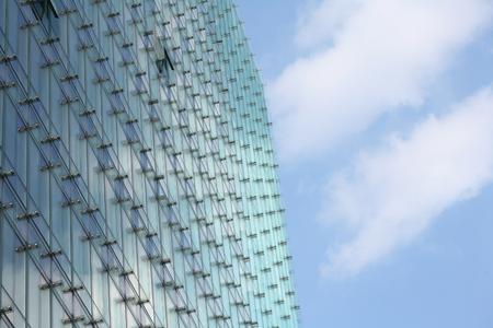 Brussels, Belgium: modern buildings, shapes lines