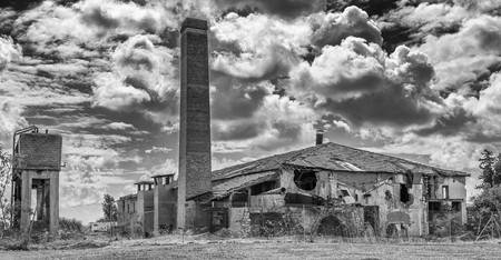 derelict: The Old derelict tile factory, Limassol