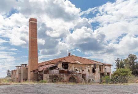 limassol: Derelict Tile factory. Taken in Spring in Limassol