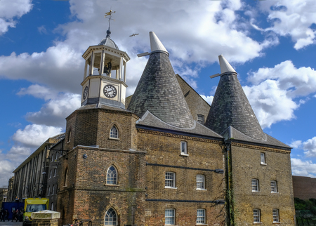 Three Mills building at Bromley-by-Bow, east London
