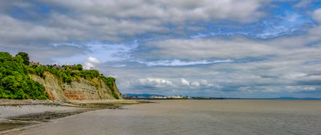 shrubs: View of Penarth Head from the pier.  Shot taken in early summer.