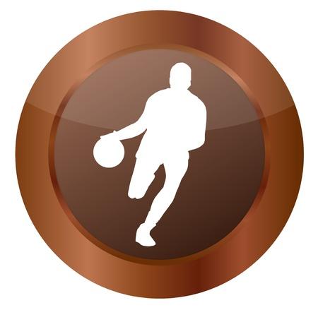 rebound: Button Basketball
