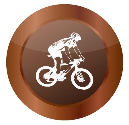 Mountainbike Stock Vector - 17103480