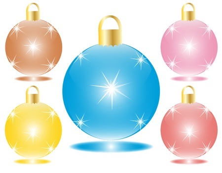 Christmas Bulb Stock Vector - 17142161