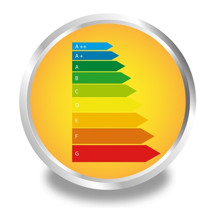 Button Energy Efficiency Category Stock Vector - 17165361