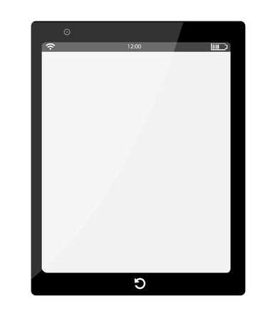Ipad Black Stock Vector - 17245086