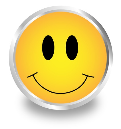 Smiley 3D Stock Vector - 17470461
