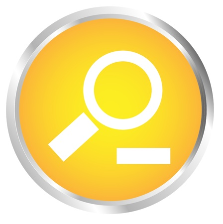 Button To zoom out Stock Vector - 17700193