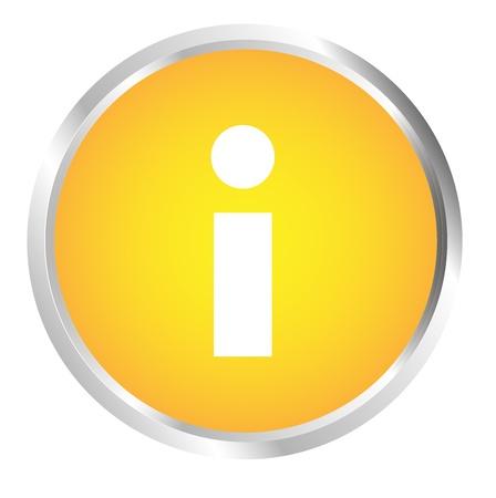 Button Information Stock Vector - 17700229