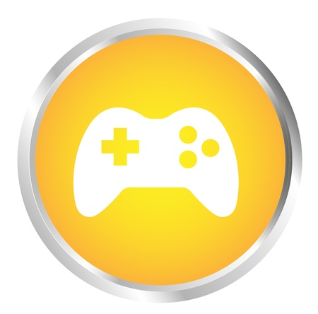 joypad: Bot�n de Joystick Vectores