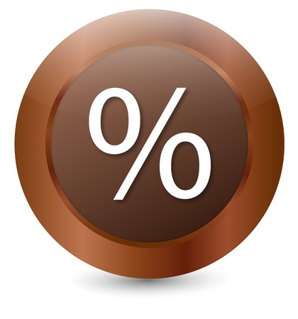 Button Percent Illustration