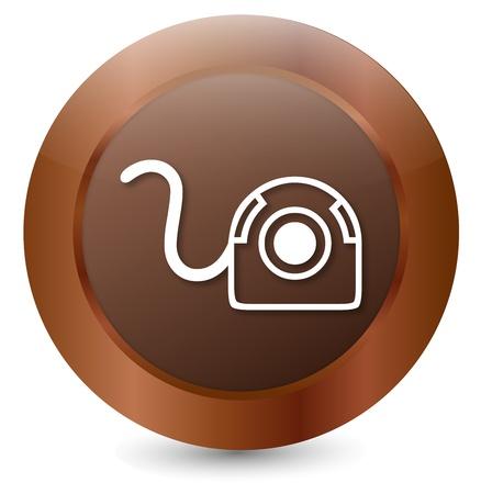 Button Webcam Stock Vector - 18203126