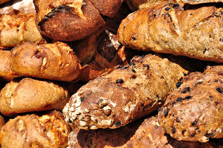 This traditional bread was displayed and sold several years ago at a Summer medieval festival in Bayeux, Normandy.