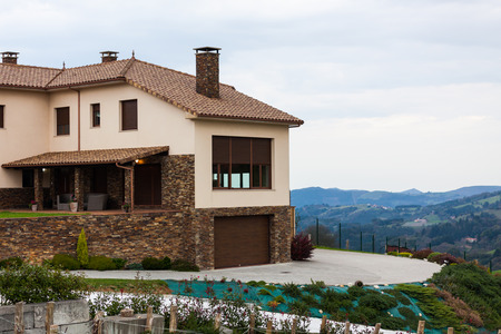 Big house with a good view in Asturias, Spain