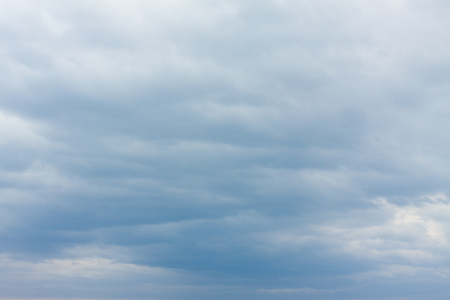 Sky with blue and grey clouds Stock Photo - 107711378