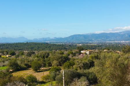 Landscapes around Costitx, Mallorca, Spain