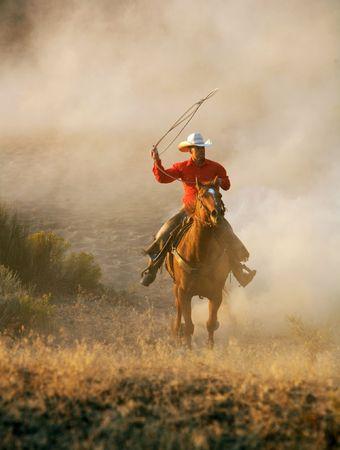 vaquero: Riding y Roping por el desierto