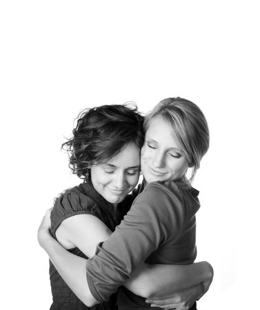 Comforting a friend Stock Photo - 3688065