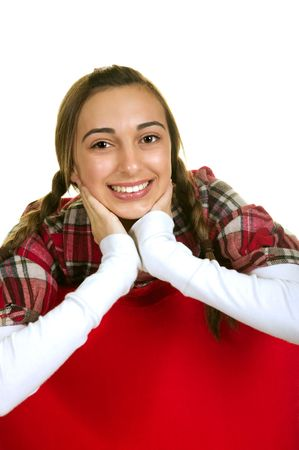 Beautiful and Stylish Teenage Girl Stock Photo - 3826033