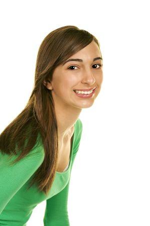 Beautiful Teenage Portrait Stock Photo - 3826034