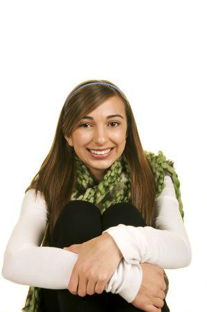 Sweet Smiling Teenager