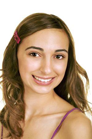 Glamorous Teenage Brunette