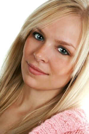 beautiful blond girl Stock Photo - 3866560
