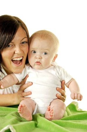 happy mother and child Stock Photo - 3899888