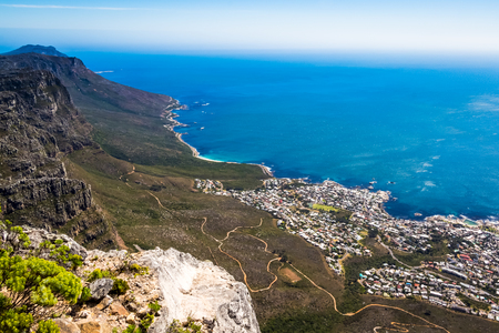 one day in Table mountain Stock Photo