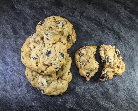 Chocolate Chip Cookies 写真素材