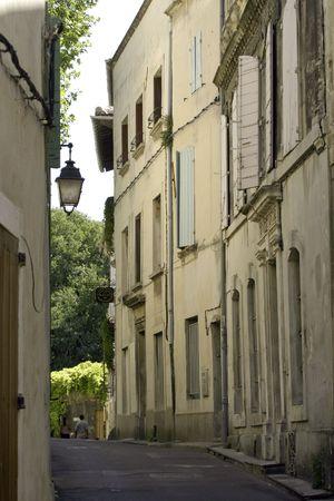 arles: Street of Arles in the south of France